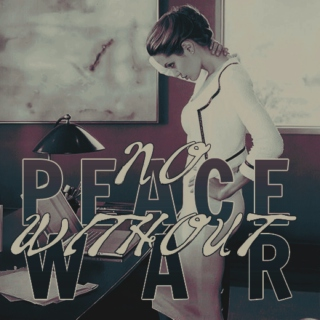 no peace without war