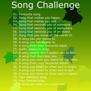Maple Leaves - A Song Challenge