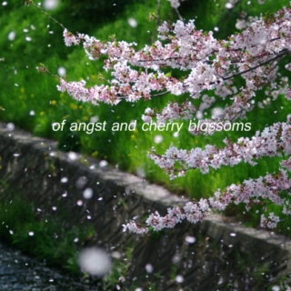 of angst and cherry blossoms