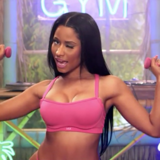 It's a Nicki Workout