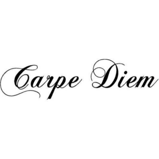 Rule #1; Seize the day