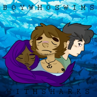 boy who swims with sharks
