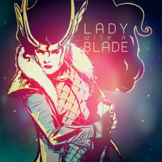 LADY with a BLADE