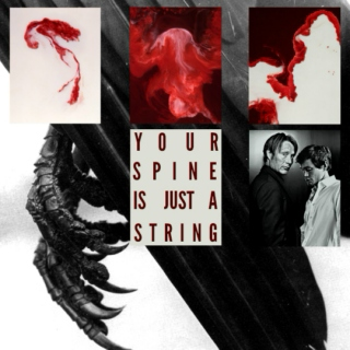 your spine is just a string