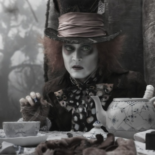 You can be Alice, I'll be the Mad Hatter
