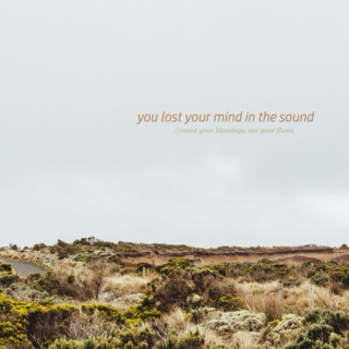 you lost your mind in the sound