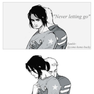 """never letting go"""