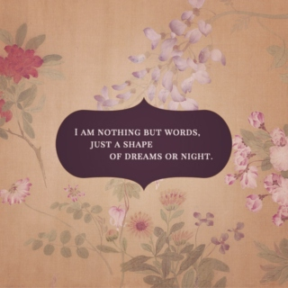 I am nothing but words
