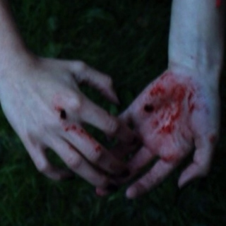 there's blood on my hands