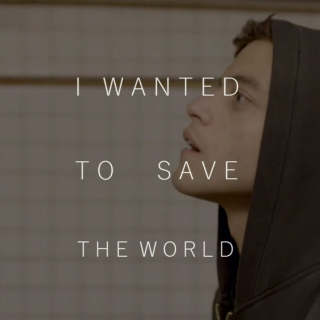 i wanted to save the world