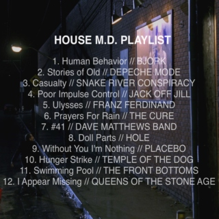 House MD Playlist
