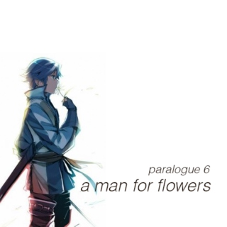 ❀ a man for flowers