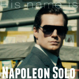 his name is...napoleon solo