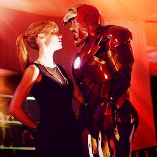Pepper and Tony
