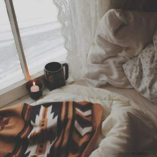 sweatpants, tea, & blankets ♥