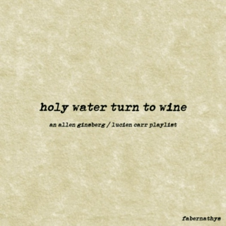 holy water turn to wine