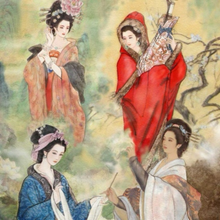 The Four Great Beauties of China