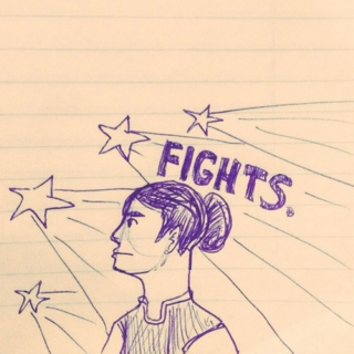 LET'S WRITE A FIGHT.