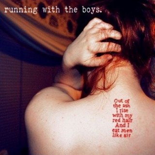 running with the boys