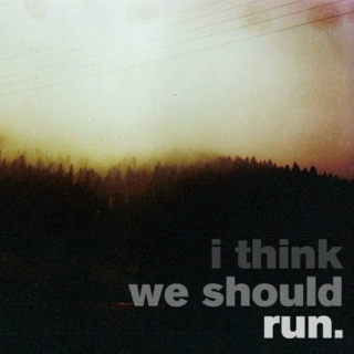i think we should run