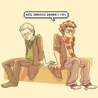 45% Serious Drarry Mix