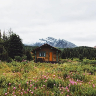 cabin in the valley