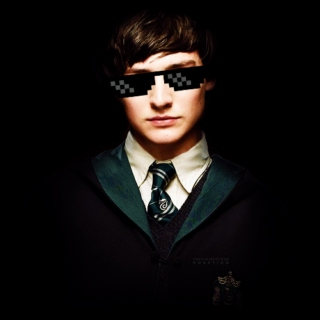 SHOUTOUT TO THE HERO OF SLYTHERIN