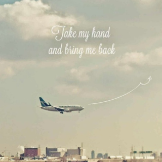I gave you a bouquet of plane tickets so I could practice the feeling of watching you leave.