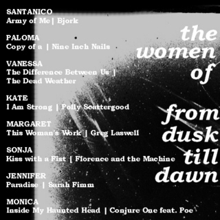 The Women of From Dusk Till Dawn