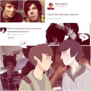 you're the straw to my berry // 2009!phan