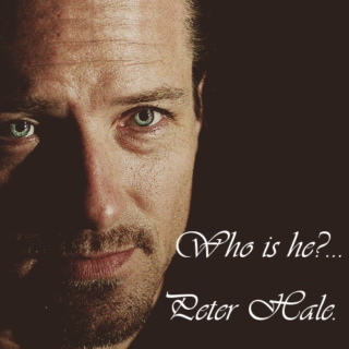 Who is he?...Peter Hale.