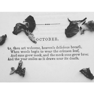 fall into october