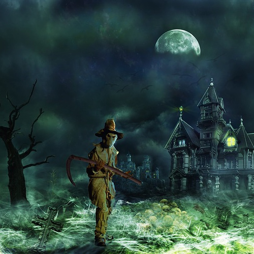 scary halloween music download
