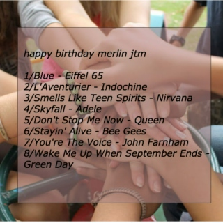 for merlin's birthday // by arthur with love