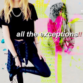 all the exceptions
