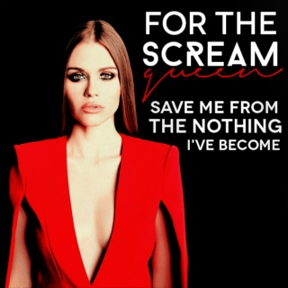 For the scream queen