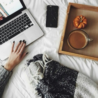 autumn leaves & cozy sweaters.