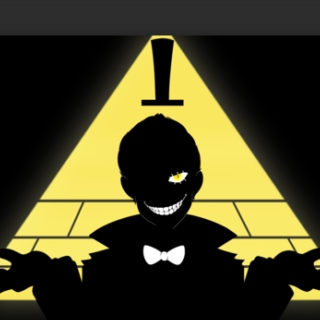 ~finally someone let me outta my cage~ BILL CIPHER