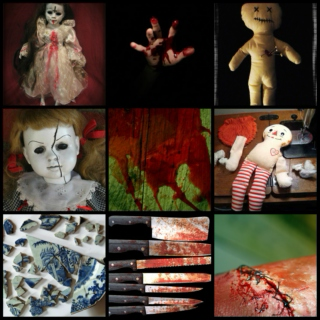 Broken Dolls and Stitched Fabric