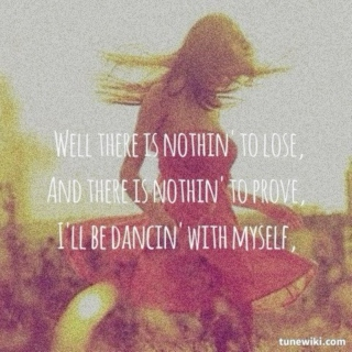 dance with it right away