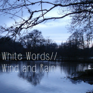 White Words // Wind and Rain [Winter Mix]