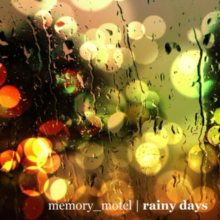 a playlist for rainy days