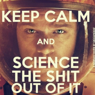 Keep Calm And Science The Shit Out Of It