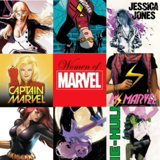 Women of Marvel//A Fanmix