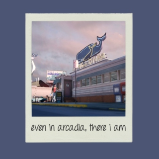 even in arcadia, there i am