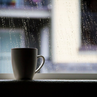 Coffee shops and raindrops