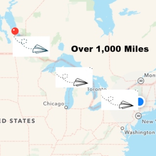 Over 1,000 Miles