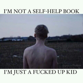 I'M NOT A SELF-HELP BOOK