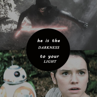 he is the darkness to your light