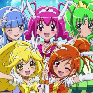 Shining Bright, Here Comes the Glitter Force!